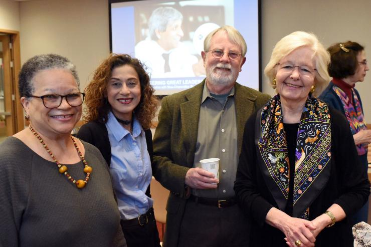 South Africa Partners Executive Director, Judy Bigby, Fatima Habib, Board Member Stephen Moody, Hon. Margaret H. Marshall